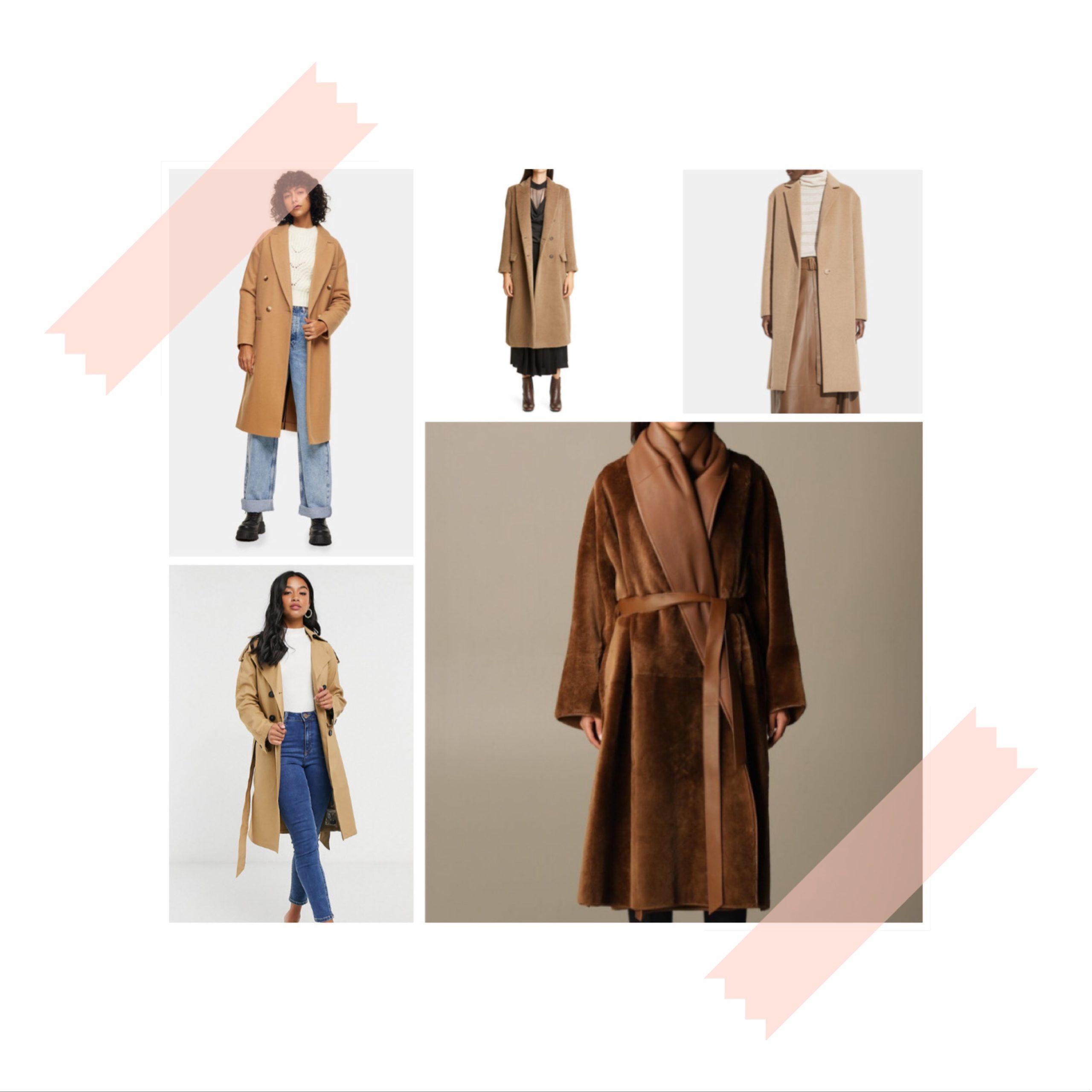 Manteaux hiver 2020/21 : Déclinaison de marron