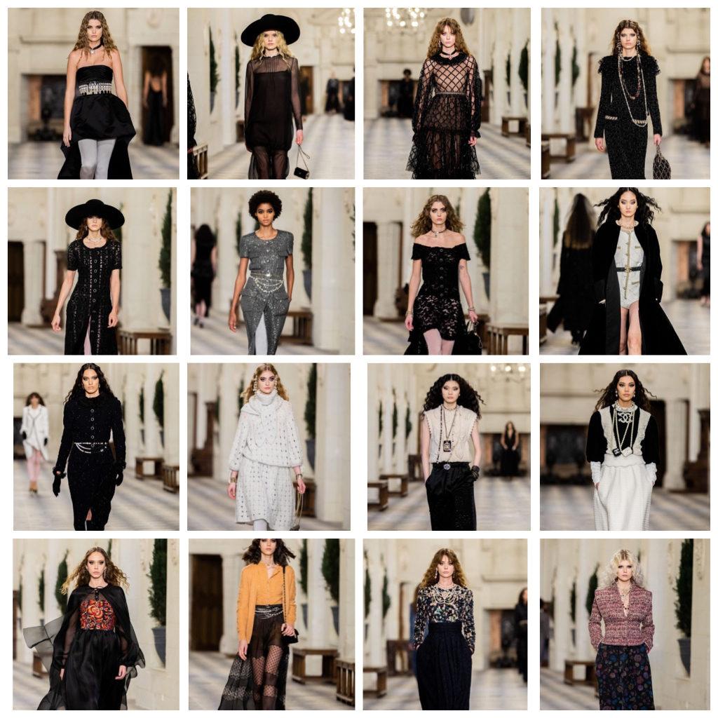 Mes silhouettes coups de coeur du défilé Métiers d'art 2020/21 Chanel