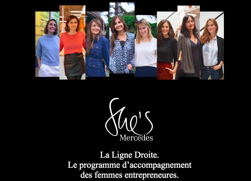 She's Mercedes France - La Ligne Droite : le programme mentoring féminin signé Mercedes-Benz France