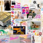 Mon tableau de visualisation 2021 – vision board 2021 Nadinez-Vous