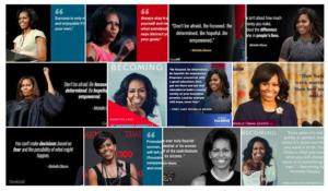Les citations inspirantes de Michelle Obama