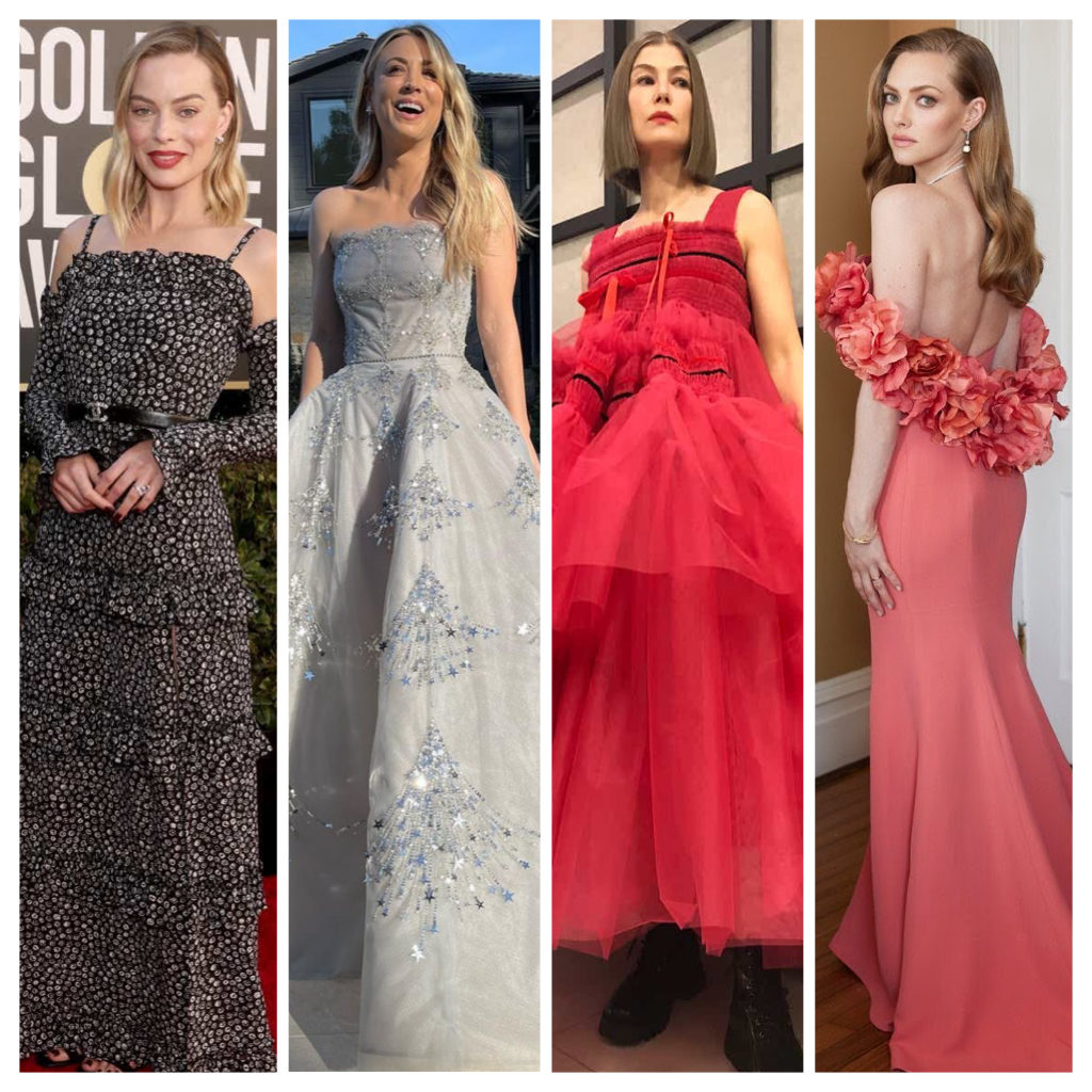 Golden Globes 2021 : Les plus belles tenues