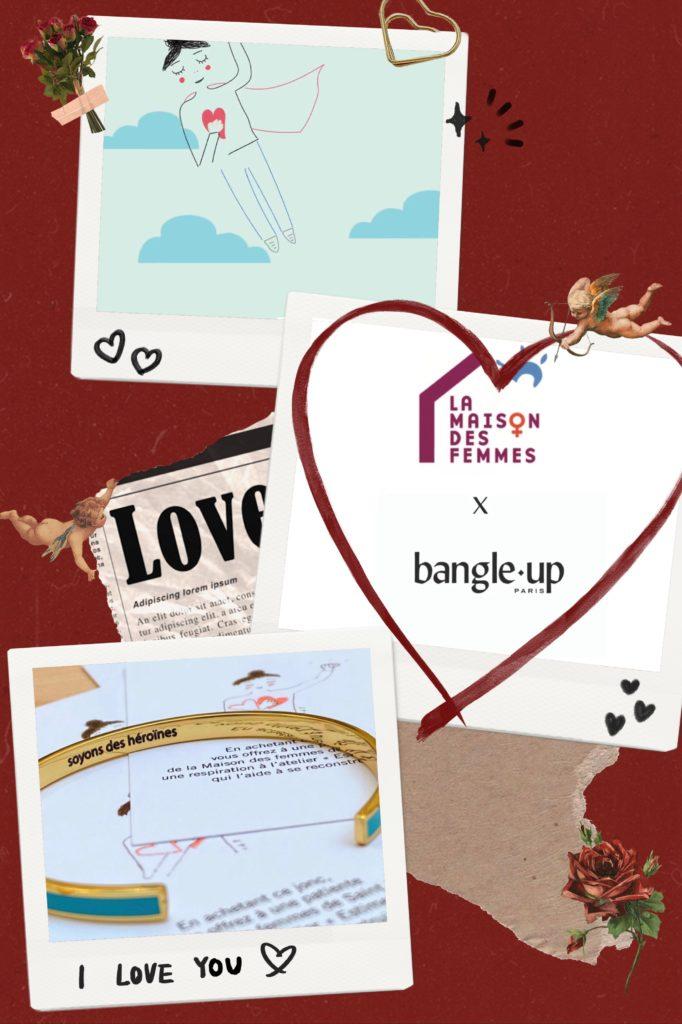 Bangle up x La Maison Des Femmes