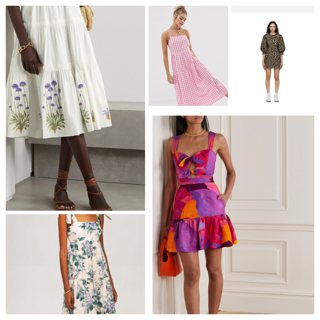 Tendance mode estivale : la robe à motif