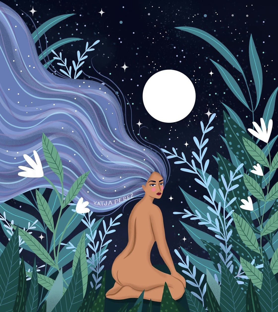 Mantras pour la pleine lune en Verseau du 22 août